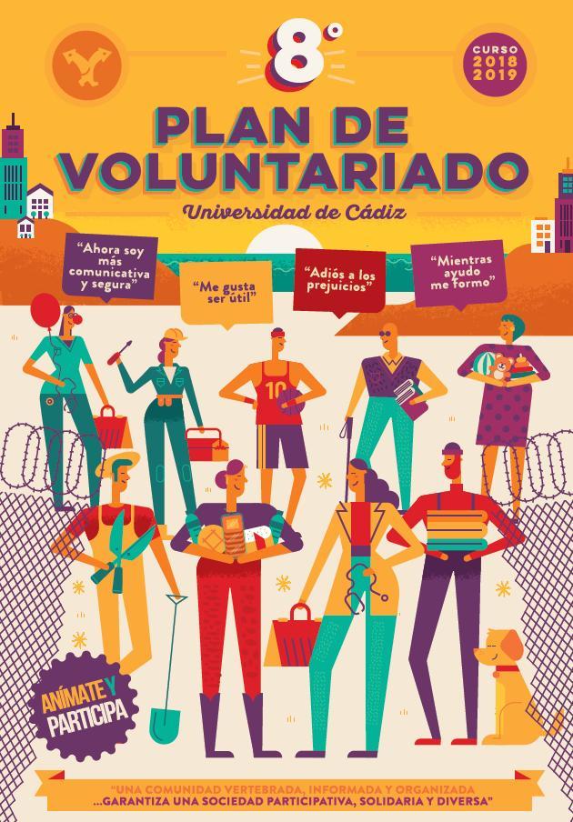 Abierto plazo de inscripción del 8º Plan de Voluntariado UCA curso 18/19