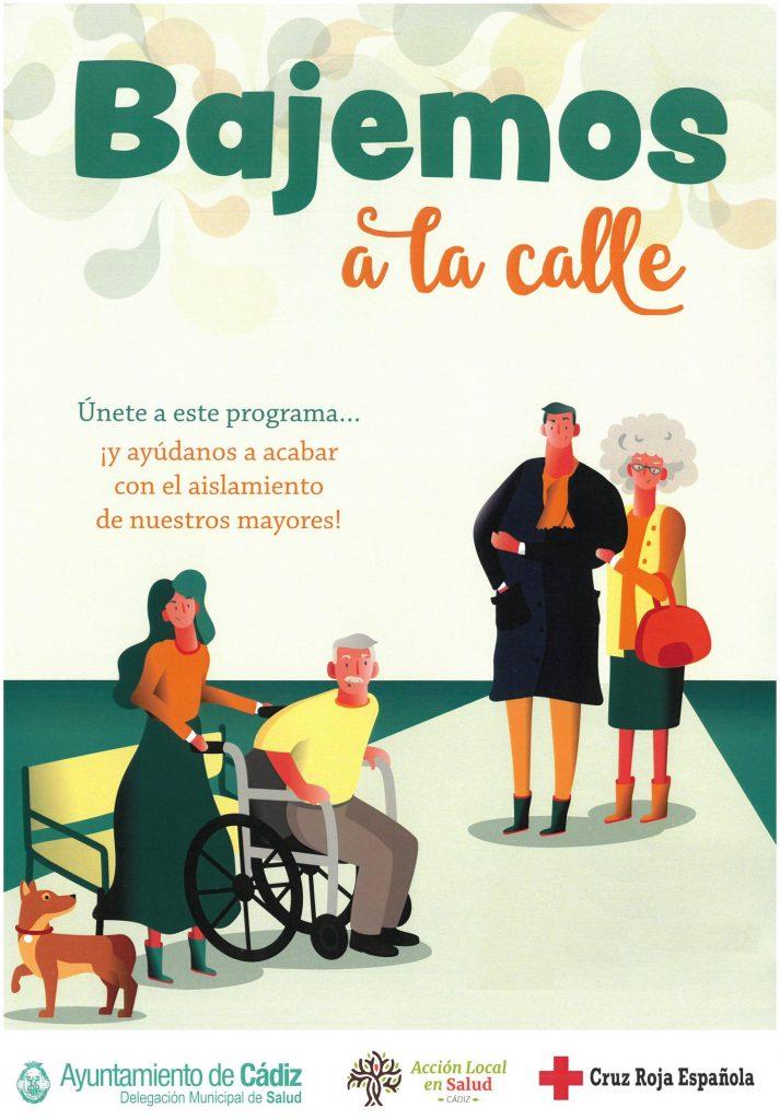"""Voluntariado en Intervención Social: Programa """"Bajemos a la calle"""". Campus de Cádiz."""