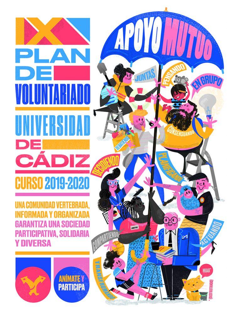 Abierto plazo de inscripción de la 2ª convocatoria del IX Plan de Voluntariado UCA curso 19/20