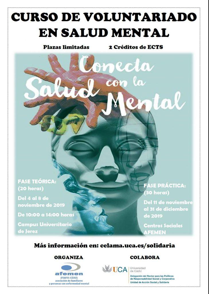 Programa de Voluntariado UCA/AFEMEN en Salud Mental