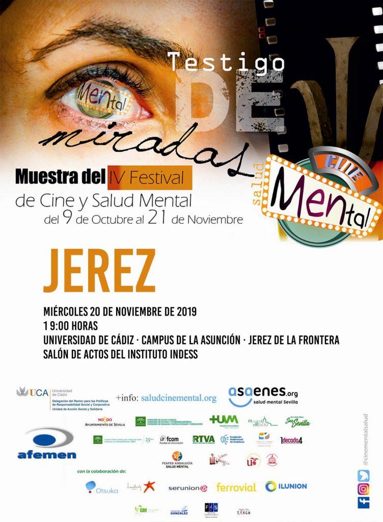 La UCA acoge el IV Festival Internacional de Cortos y Salud Mental. 20 de noviembre. Campus de Jerez
