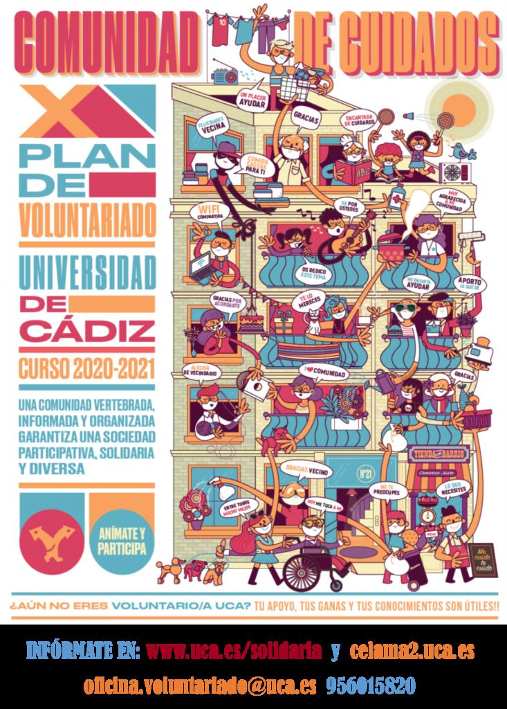 X PLAN VOLUNTARIADO UCA CURSO 2020/2021